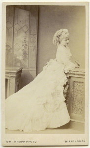 <br />albumen carte-de-visite, 1860s<br />3 5/8 in. x 2 1/4 in. (92 mm x 57 mm) image size<br />acquired Clive Holland, 1959<br />Photographs Collection<br />